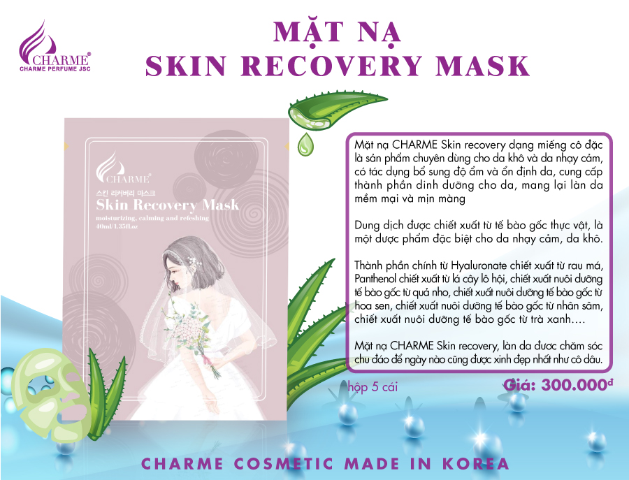 MẶT NẠ SKIN RECOVERY MASK