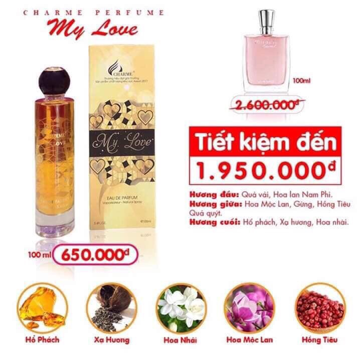 CHARME MY LOVE 100ml