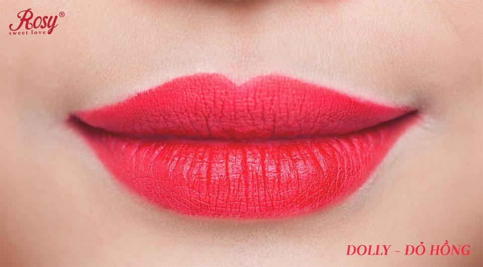Son sáp Rosy Đỏ Hồng – Dolly