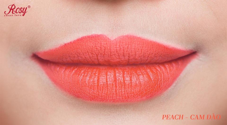 Son sáp Rosy Cam Đào - Peach