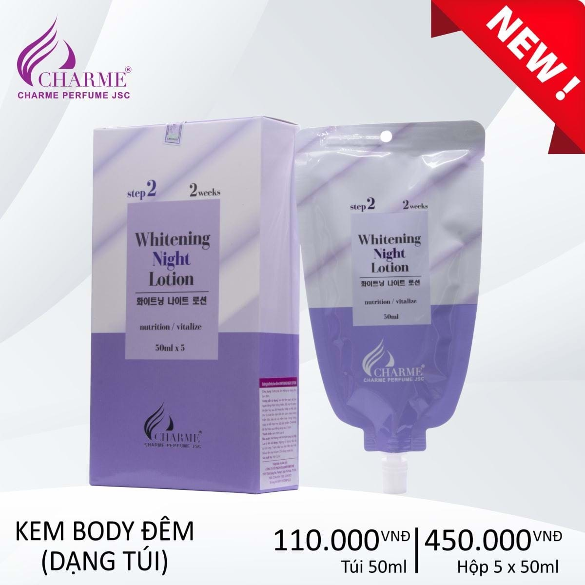 DƯỠNG DA BODY BAN ĐÊM WHITENING NIGHT LOTION