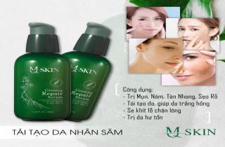 Cách sử dụng serum thay da nhân sâm MQ Skin